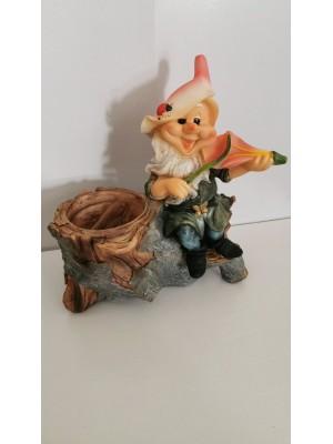 Кашпа с горско джудже керамика