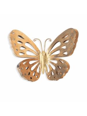 Стенно метално пано пеперуда HM7213