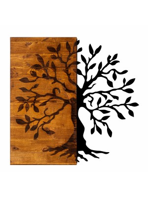 Стенно пано метал и дърво HM7220