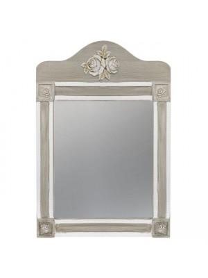 Стенно Огледало Melody HM7009.02 бяла/сива патина56Χ77.50