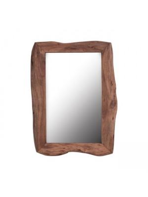 Стенно Огледало HM8187 с рамка от акация масив 100Χ75Χ4