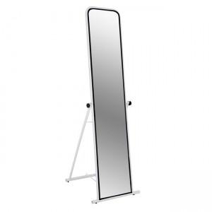 Стоящо огледало с бяла метална рамка HM8263.01