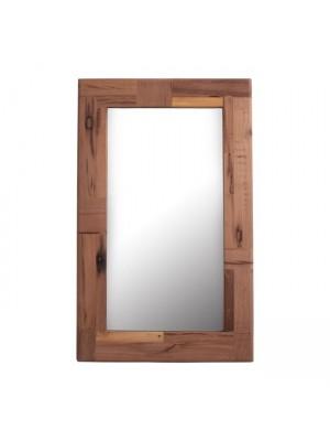 Стенно Огледало HM8380 Jaida с рамка от масивно мангово дърво 109,5Χ4Χ70