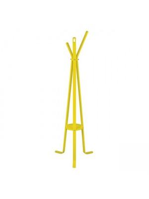 Дървена закачалка за дрехи HM8414.04 Stan Yellow