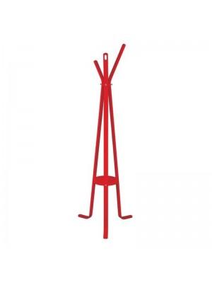 Дървена закачалка за дрехи HM8414.07 Stan Red