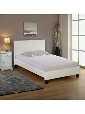 Спалня Fenia 110x190 бяла кожа HM530.02