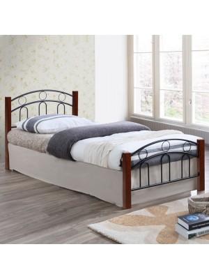 Единично легло с метална рамка HM341 90x190