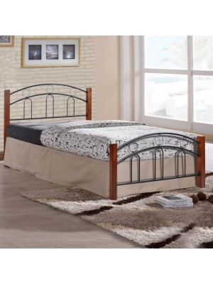 Bed Metallic-Wooden semi-double HM342 110x190