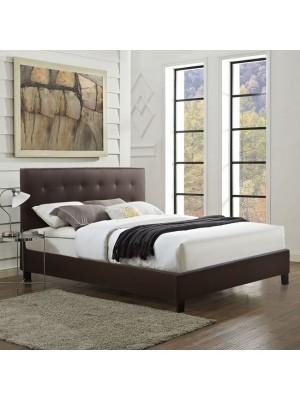 Спалня Brisa кафява кожа HM552.02 150x200