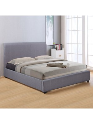 Спалня Blake 180x200 тъмно сива HM557.05