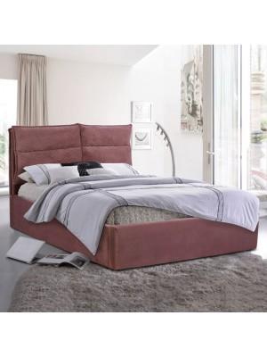 Спалня Royalty  King Size 160x200 ДАМАСКА ПЛЮШ ПЕПЕЛ ОТ РОЗИ HM563.02