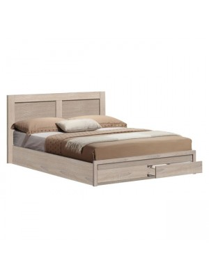 Bed Capri HM399.02 with 2 Drawers Sonama 160x200cm