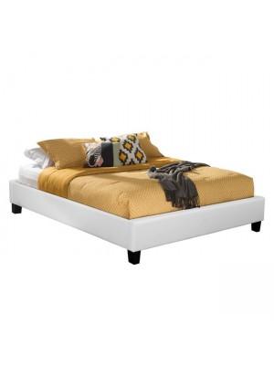 Спалня Tonya HM398.01 бяла кожа 160x200
