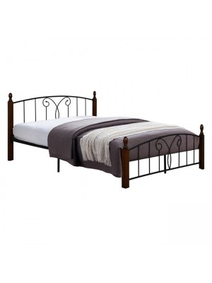 Double Bed Suzie HM585 for mattress 150x200 Metal Wood