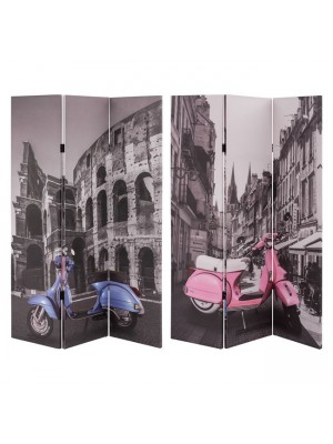 ДВУЛИЦЕВ ПАРАВАН Motorbike Colosseum 180X121X2.5 cm. HM7152.10