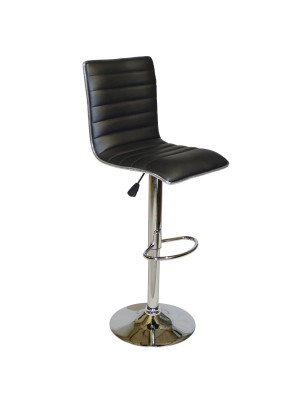 Bar Stool Nexus with gas lift & black PU HM209.01