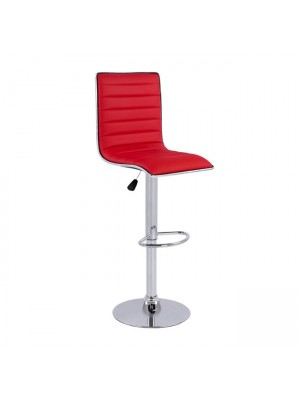 Bar Stool Nexus with gas lift & red PU HM209.04