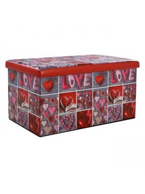 ТАБУРЕТКА РАКЛА Love 80X40X40 HM8128
