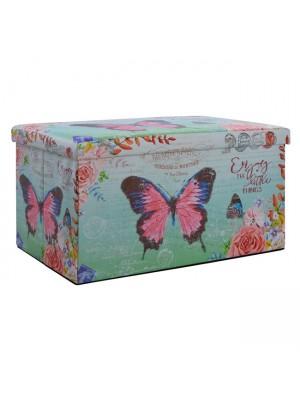 ТАБУРЕТКА РАКЛА Butterfly 80X40X40 HM8132