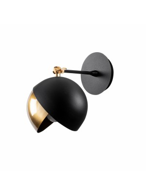 Метален аплик черно и златно HM7300