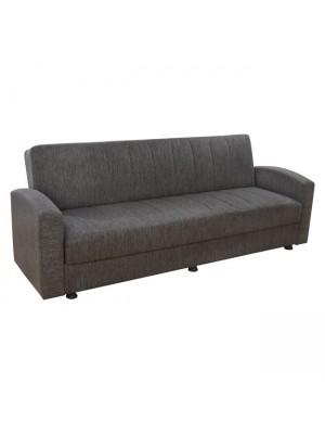 Три местен разтегателен диван Dimos бежов HM3074.01