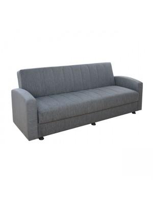Три местен разтегателен диван Dimos сив HM3074.03