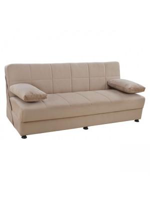 Три местен разтегателен диван Ege бежов HM3067.05