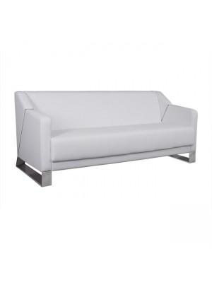 Три местен диван Kizzy HM3123.32 бяла кожа