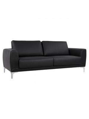 Три местен диван Kenzie HM3121.31 черна кожа