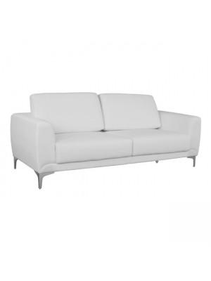 Три местен диван Kenzie HM3121.32 бяла кожа