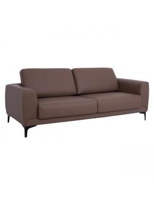 Три местен диван Kenzie HM3121.33 кафяв /Taba PU