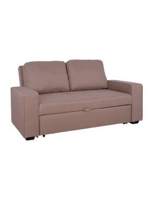 Разтегателен двуместен диван Kanna бежов текстил HM3082.04