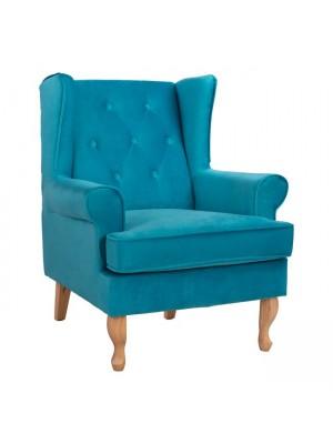 Armchair Turquoise Brandon 81x83x101cm HM3073.18