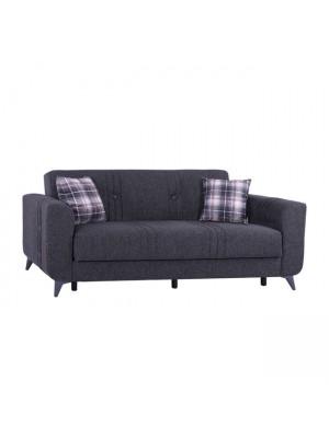 Триместен диван KRISTINA HM3165.30 сив ANTHRACITE LEGS 210x80x83 cm