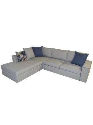 Ъглов диван Home с възможност за избор на цвят на дамаска HM11396.01