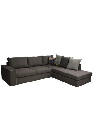 Ъглов диван Home с възможност за избор на цвят на дамаска HM11396.02