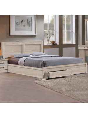 Bed Capri HM312.02 With 2 drawers sonama 150x200