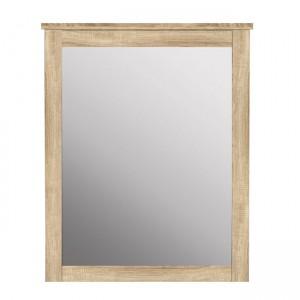 Стенно Огледало HM314.02 с рамка в цвят сонома 72x93