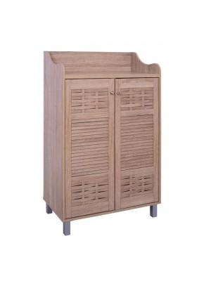 ШКАФ ЗА ОБУВКИ Wooden HM2230.02 Sonama 77x40x121 HM2230.02