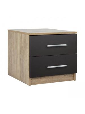 Нощно шкафче Melamine HM2220.04 цвят сонома 48x40x41cm