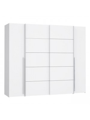 Гардероб с 4 врати (2 Sliding-2 Fixed Doors) Lois HM2369.04 271x62x210cm