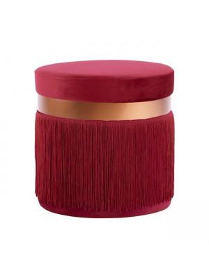Табуретка цвят бургунди HM8496.06