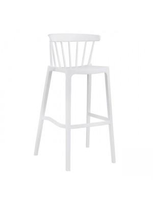 Бар стол Nazia white HM5722.01 45.5x52x103 cm