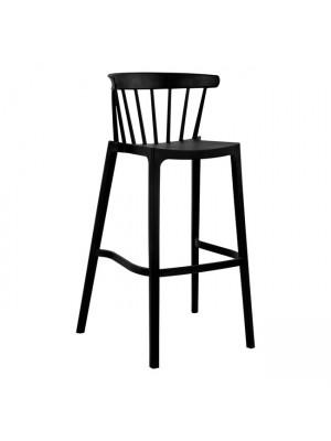 Бар стол Nazia Black HM5722.02 45.5x52x103 cm
