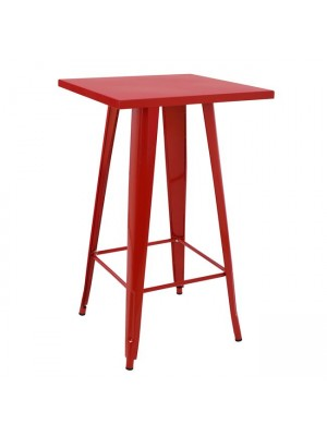 Stand Bar in Red color HM0610.07 60x60x102