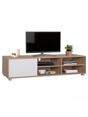 ТВ шкаф HM2343.01 цвят сонома/бял 180x40x41cm