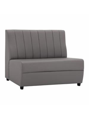 Двуместен диван Landon от синтетична кожа в сиво HM3161.10