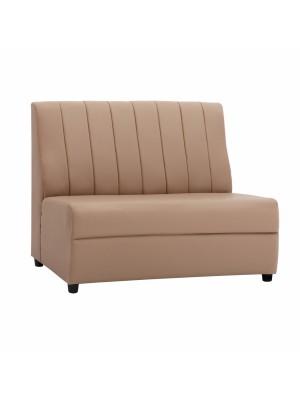 Двуместен диван Landon от синтетична кожа в цвят капучино HM3161.04