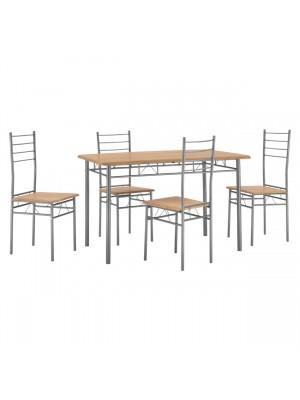 Трапезет сет маса с 4 стола HM8739.01