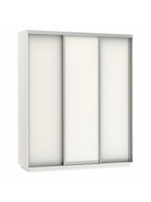 Гардероб слайд от меламин с три врати в бяло HM2305.03